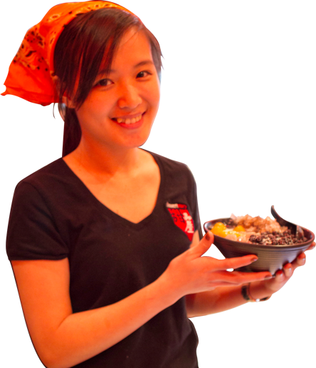 Image of Dessert Story girl model